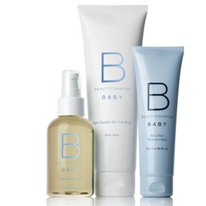 Beauty Counter Welcome Baby Starter Gift Box Set